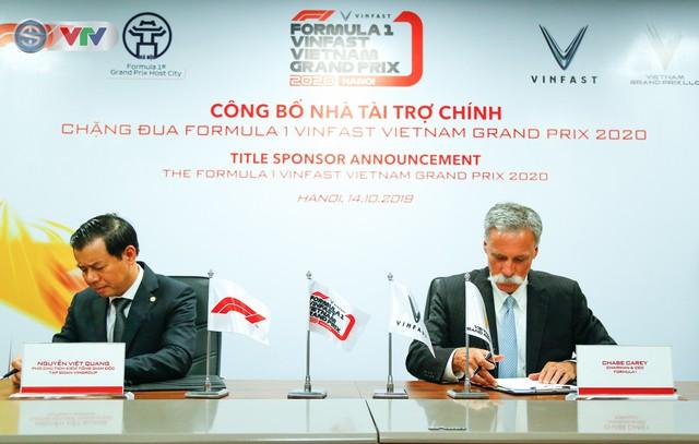 VinFast là nhà tài trợ chính của chặng đua Công thức 1 Việt Nam - Ảnh 1.