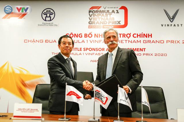 VinFast là nhà tài trợ chính của chặng đua Công thức 1 Việt Nam - Ảnh 2.
