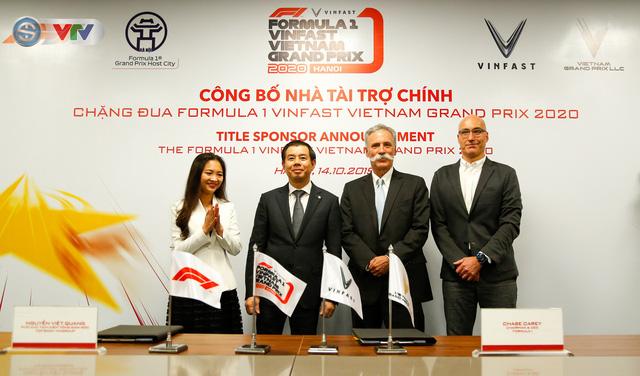 VinFast là nhà tài trợ chính của chặng đua Công thức 1 Việt Nam - Ảnh 3.