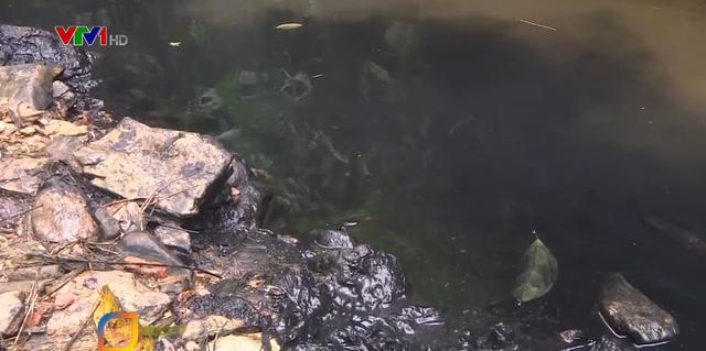 Phát hiện dầu thải ở đầu nguồn nước sạch sông Đà - Ảnh 3.