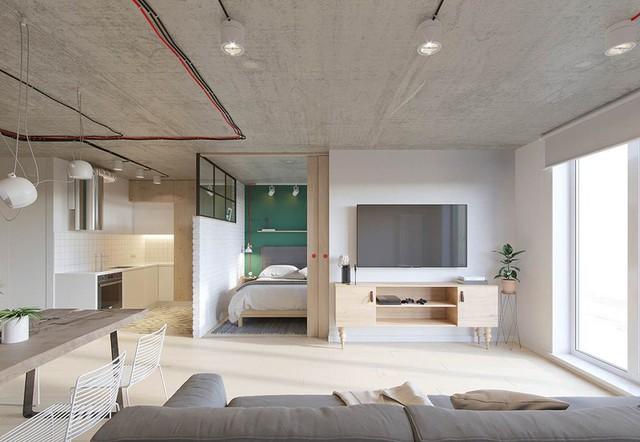 Căn hộ 25m2 có thiết kế nội thất hợp lý - Ảnh 1.
