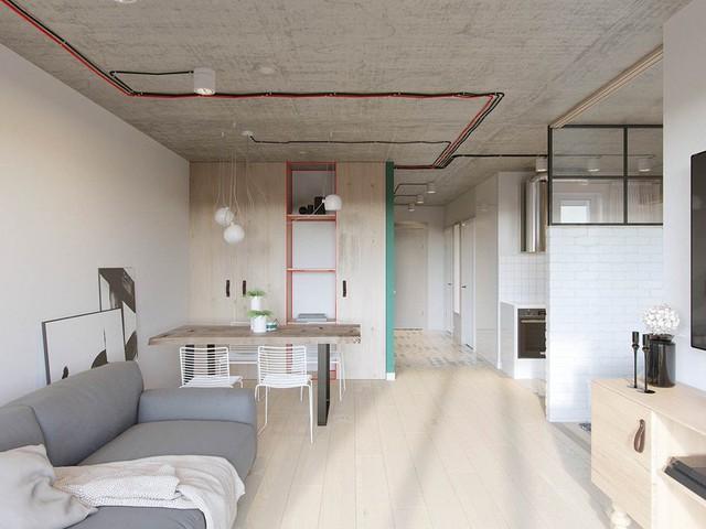 Căn hộ 25m2 có thiết kế nội thất hợp lý - Ảnh 2.