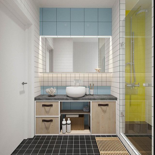 Căn hộ 25m2 có thiết kế nội thất hợp lý - Ảnh 11.