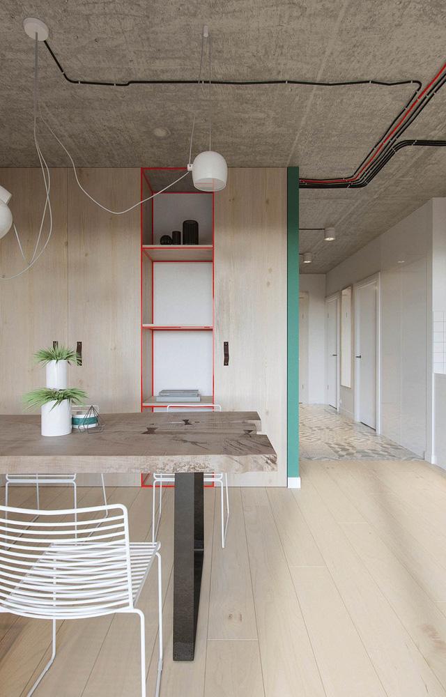 Căn hộ 25m2 có thiết kế nội thất hợp lý - Ảnh 4.