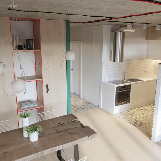 Căn hộ 25m2 có thiết kế nội thất hợp lý - Ảnh 5.
