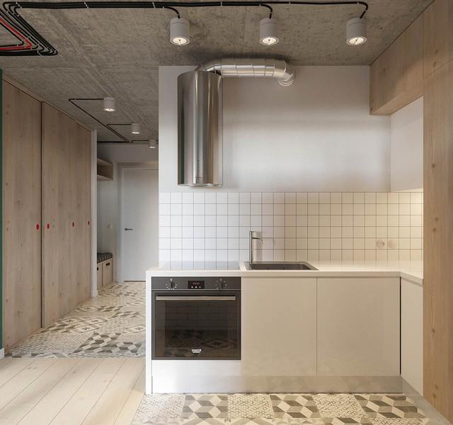 Căn hộ 25m2 có thiết kế nội thất hợp lý - Ảnh 6.
