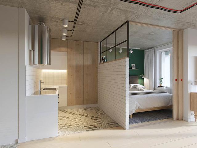 Căn hộ 25m2 có thiết kế nội thất hợp lý - Ảnh 7.