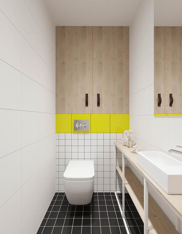 Căn hộ 25m2 có thiết kế nội thất hợp lý - Ảnh 10.