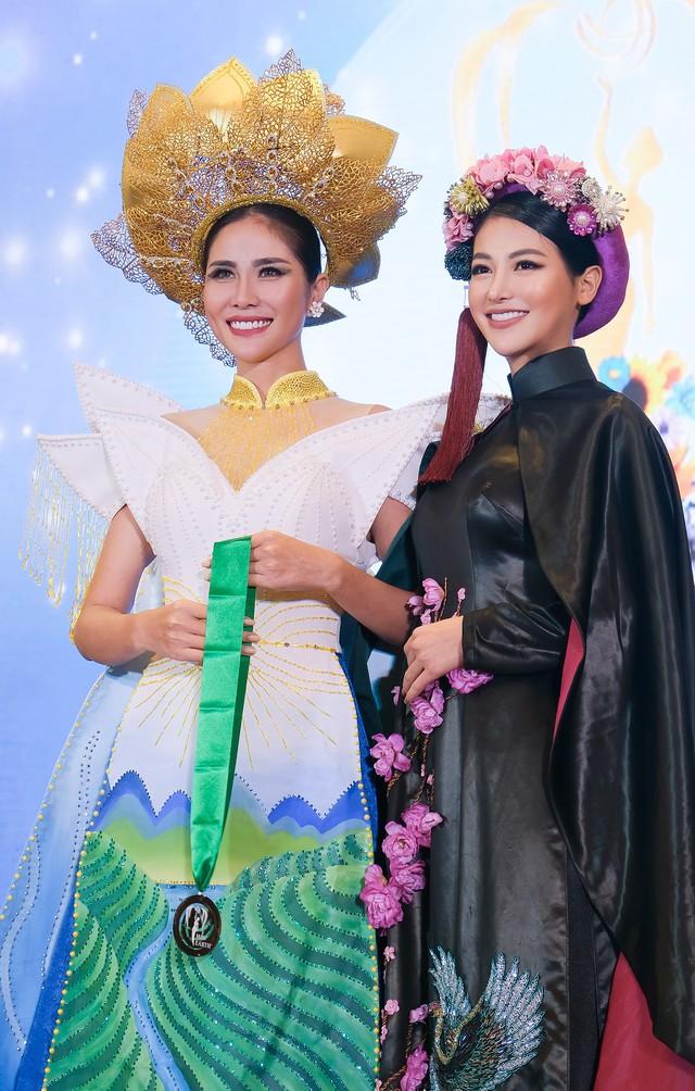Phương Khánh diện áo dài lộng lẫy chấm thi Miss Earth 2019 - Ảnh 5.
