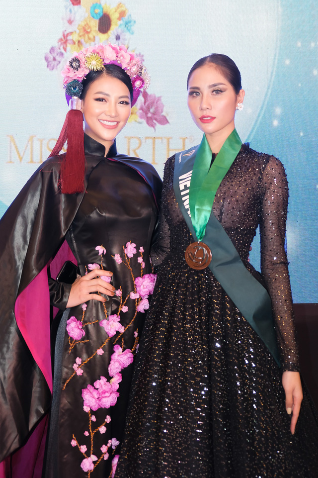 Phương Khánh diện áo dài lộng lẫy chấm thi Miss Earth 2019 - Ảnh 16.