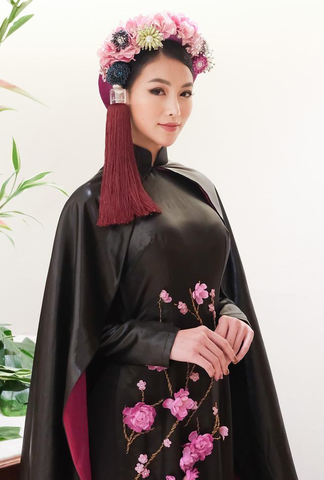 Phương Khánh diện áo dài lộng lẫy chấm thi Miss Earth 2019 - Ảnh 6.