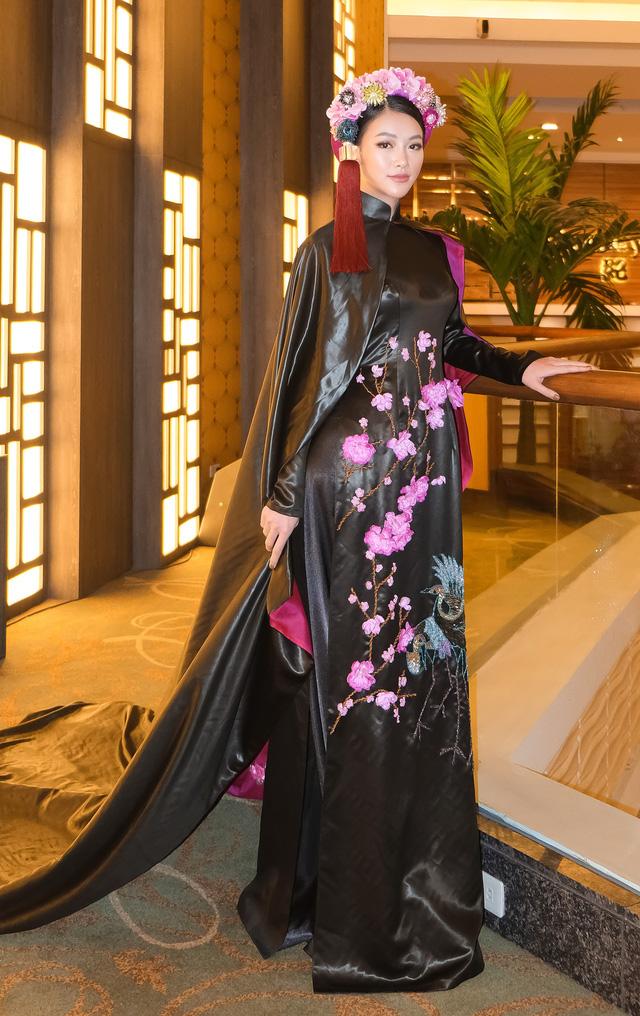 Phương Khánh diện áo dài lộng lẫy chấm thi Miss Earth 2019 - Ảnh 7.