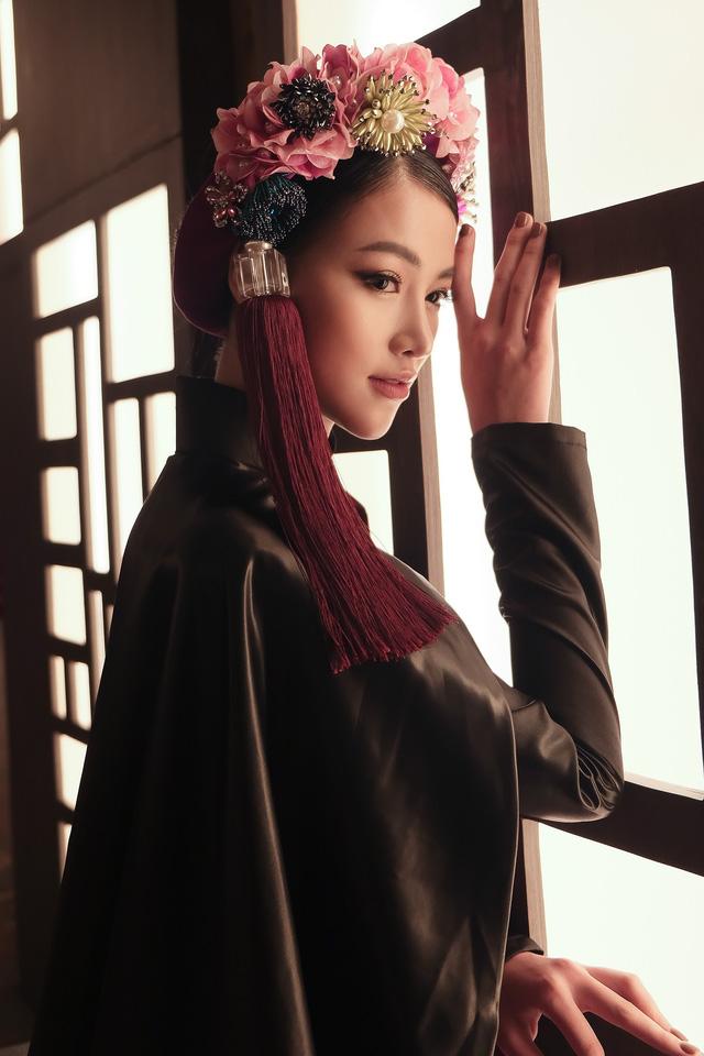 Phương Khánh diện áo dài lộng lẫy chấm thi Miss Earth 2019 - Ảnh 4.