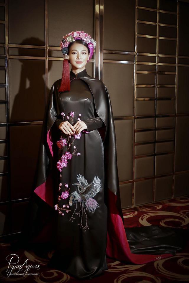 Phương Khánh diện áo dài lộng lẫy chấm thi Miss Earth 2019 - Ảnh 3.