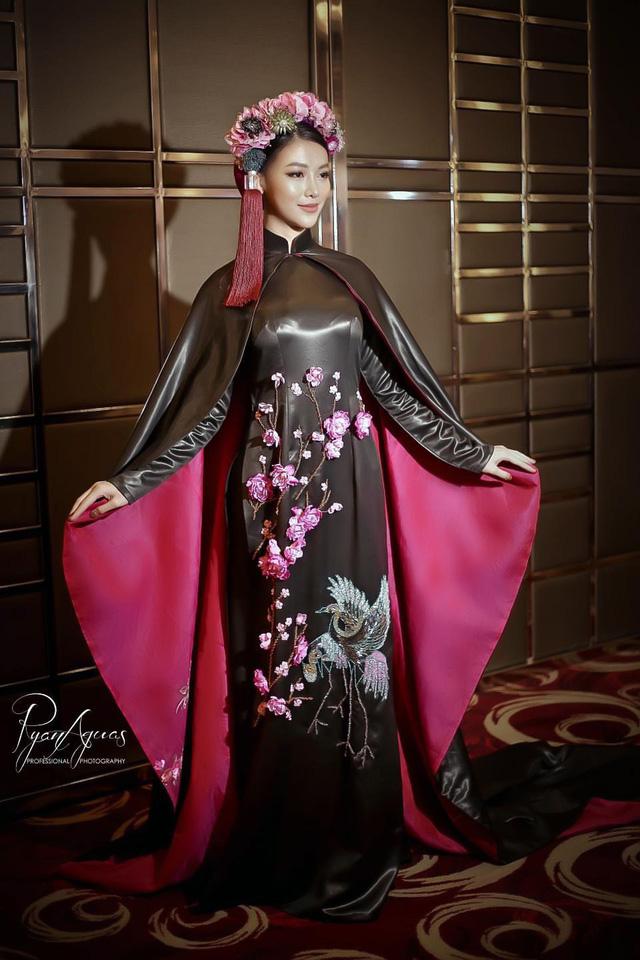 Phương Khánh diện áo dài lộng lẫy chấm thi Miss Earth 2019 - Ảnh 2.