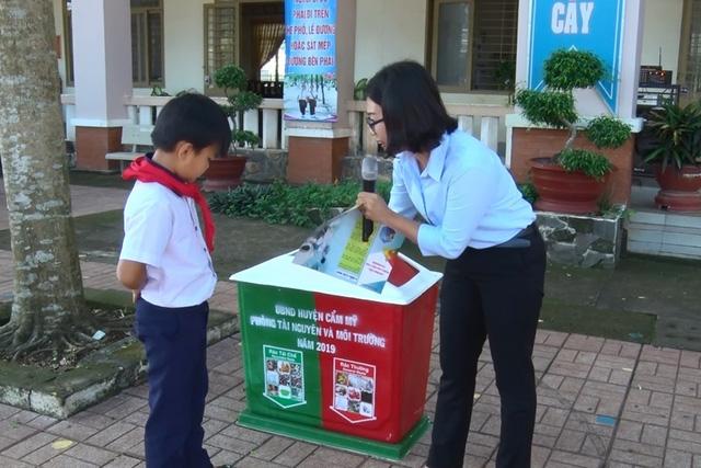 Đồng Nai: Nhân rộng mô hình Phân loại rác tại nguồn trong trường học - Ảnh 1.