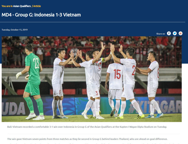 Truyền thông quốc tế nói gì về chiến thắng của ĐT Việt Nam trước ĐT Indonesia? - Ảnh 2.