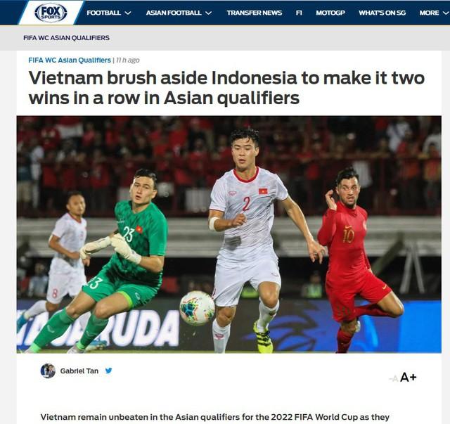Truyền thông quốc tế nói gì về chiến thắng của ĐT Việt Nam trước ĐT Indonesia? - Ảnh 1.