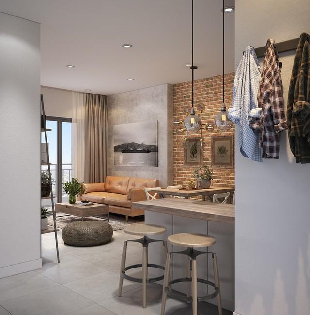 Căn hộ 25m2 có cách sắp xếp nội thất thông minh - Ảnh 4.