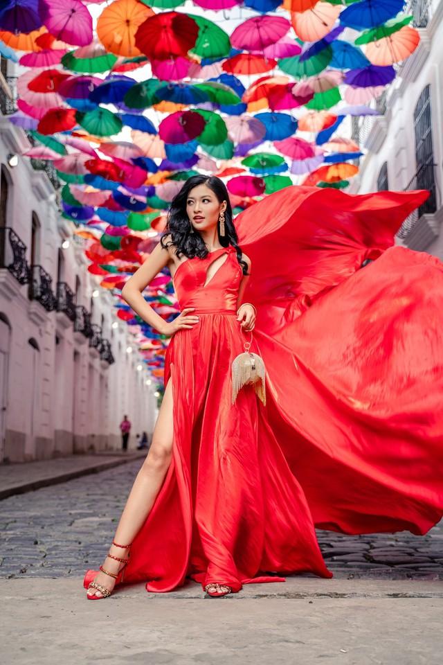Á hậu Kiều Loan lọt top 6 bình chọn tại Miss Grand International 2019 - Ảnh 1.