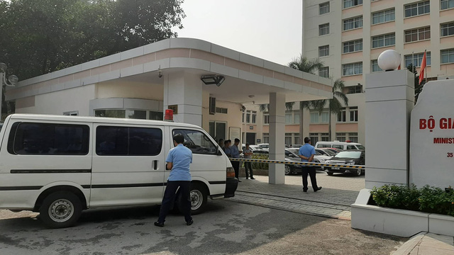Thứ trưởng Bộ GD&ĐT Lê Hải An qua đời vì tai nạn - Ảnh 1.