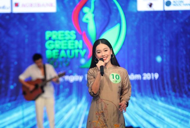 Ấn tượng vòng thi tài năng của Press Green Beauty 2019 - Ảnh 8.