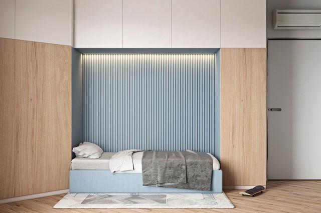 Căn hộ 2 phòng ngủ được thiết kế đẹp mắt - Ảnh 2.