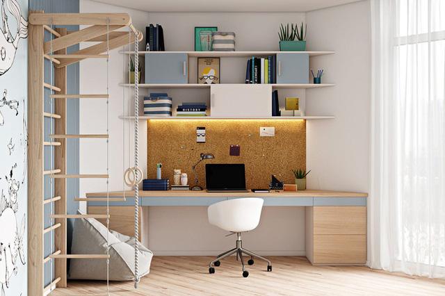Căn hộ 2 phòng ngủ được thiết kế đẹp mắt - Ảnh 3.