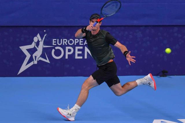 Andy Murray vào chung kết giải quần vợt Antwerp mở rộng 2019 - Ảnh 2.