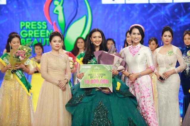 Top 15 Hoa hậu Việt Nam 2018 Phạm Ngọc Hà My đăng quang Hoa khôi Press Green Beauty 2019 - Ảnh 8.