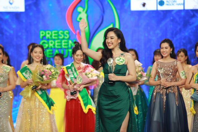 Top 15 Hoa hậu Việt Nam 2018 Phạm Ngọc Hà My đăng quang Hoa khôi Press Green Beauty 2019 - Ảnh 7.