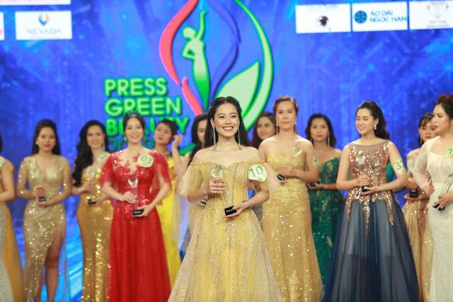 Top 15 Hoa hậu Việt Nam 2018 Phạm Ngọc Hà My đăng quang Hoa khôi Press Green Beauty 2019 - Ảnh 6.