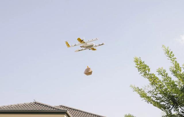 Công ty đầu tiên ở Mỹ giao hàng bằng máy bay không người lái - Ảnh 2.