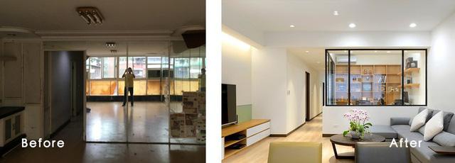 Cải tạo căn hộ 132m2 thành không gian sống hiện đại - Ảnh 1.