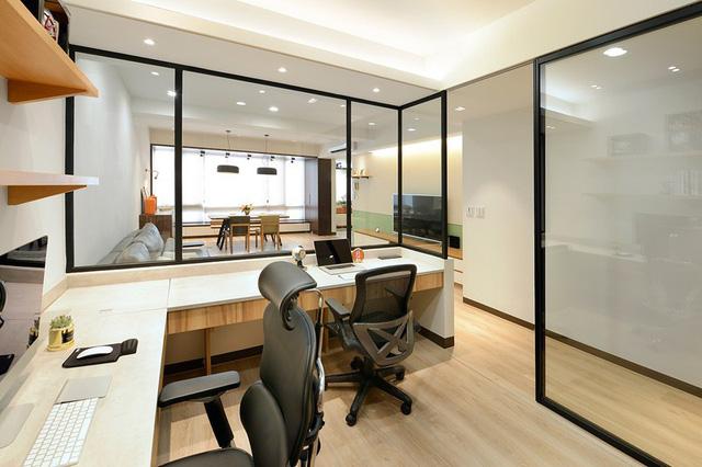 Cải tạo căn hộ 132m2 thành không gian sống hiện đại - Ảnh 6.