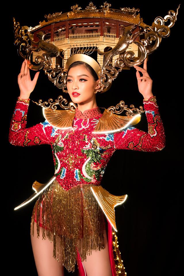 Lộ diện quốc phục của Á hậu Kiều Loan tại Miss Grand International 2019 - Ảnh 3.