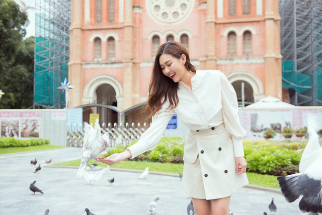 Tường San tung bộ ảnh giới thiệu tại Miss International 2019 - Ảnh 5.