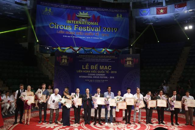 Liên hoan xiếc quốc tế 2019: Lộ diện nhiều nghệ sĩ trẻ tiềm năng trong biểu diễn nghệ thuật xiếc - ảnh 6