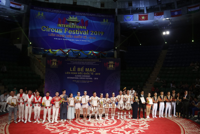Liên hoan xiếc quốc tế 2019: Lộ diện nhiều nghệ sĩ trẻ tiềm năng trong biểu diễn nghệ thuật xiếc - ảnh 9