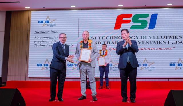 FSI được bình chọn vào Top 50 doanh nghiệp CNTT hàng đầu Việt Nam 2019 - Ảnh 1.