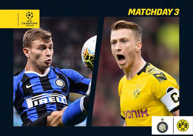 Lịch thi đấu Champions League đêm nay: Inter Milan - Dortmund, Ajax - Chelsea, Genk - Liverpool - Ảnh 1.