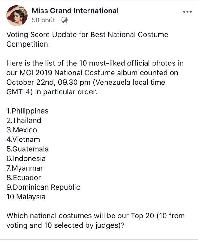 Vừa lọt Top 10 bình chọn quốc phục, Kiều Loan khoe ngay bộ cánh thi Bán kết Miss Grand International 2019 - Ảnh 2.