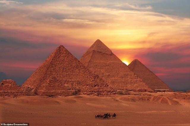 Ngắm vẻ đẹp huy hoàng của Ai Cập - Ảnh 1.