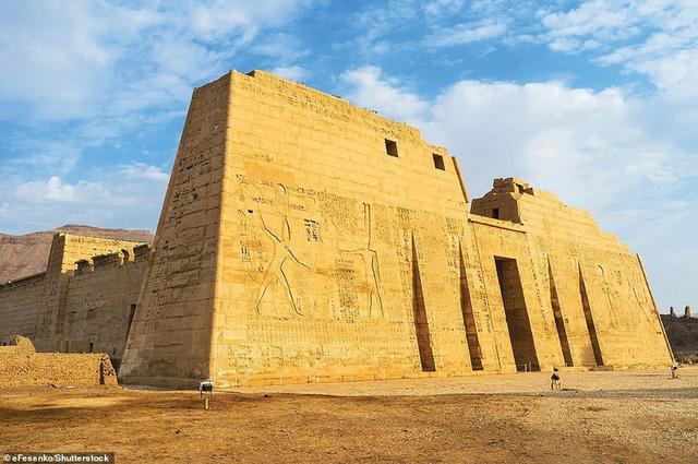 Ngắm vẻ đẹp huy hoàng của Ai Cập - Ảnh 7.