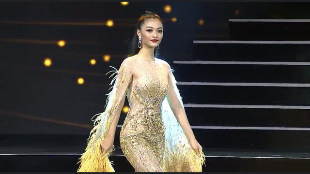 Kiều Loan diện jumpsuit, bikini trình diễn trong đêm Bán kết Miss Grand International 2019 - Ảnh 5.