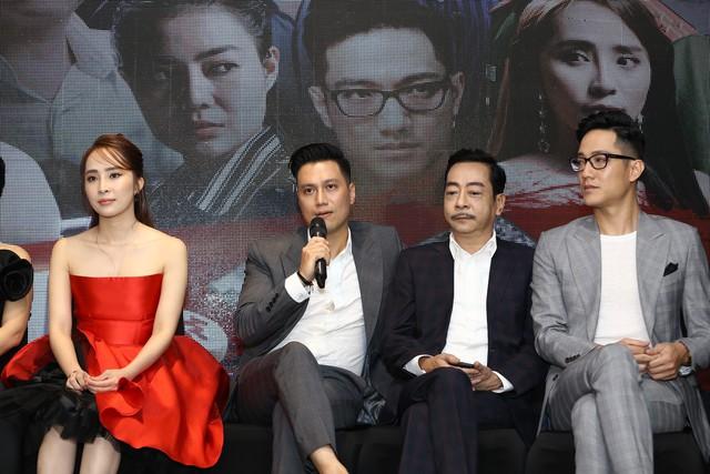 Hậu thẩm mỹ, Việt Anh bảnh bao xuất hiện tại họp báo ra mắt phim mới - Ảnh 1.