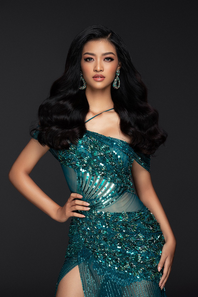 Liên tiếp lọt top cao, Kiều Loan khoe bộ đầm thi Chung kết Miss Grand International 2019 - Ảnh 4.