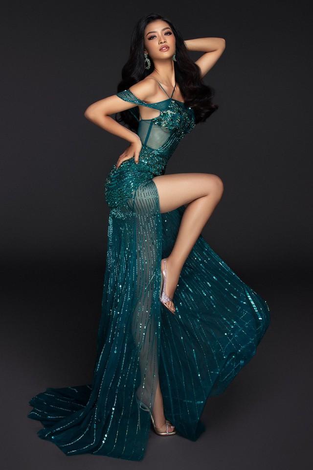 Liên tiếp lọt top cao, Kiều Loan khoe bộ đầm thi Chung kết Miss Grand International 2019 - Ảnh 5.