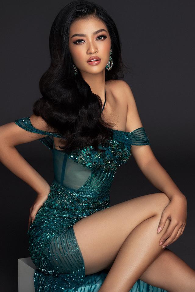 Liên tiếp lọt top cao, Kiều Loan khoe bộ đầm thi Chung kết Miss Grand International 2019 - Ảnh 6.