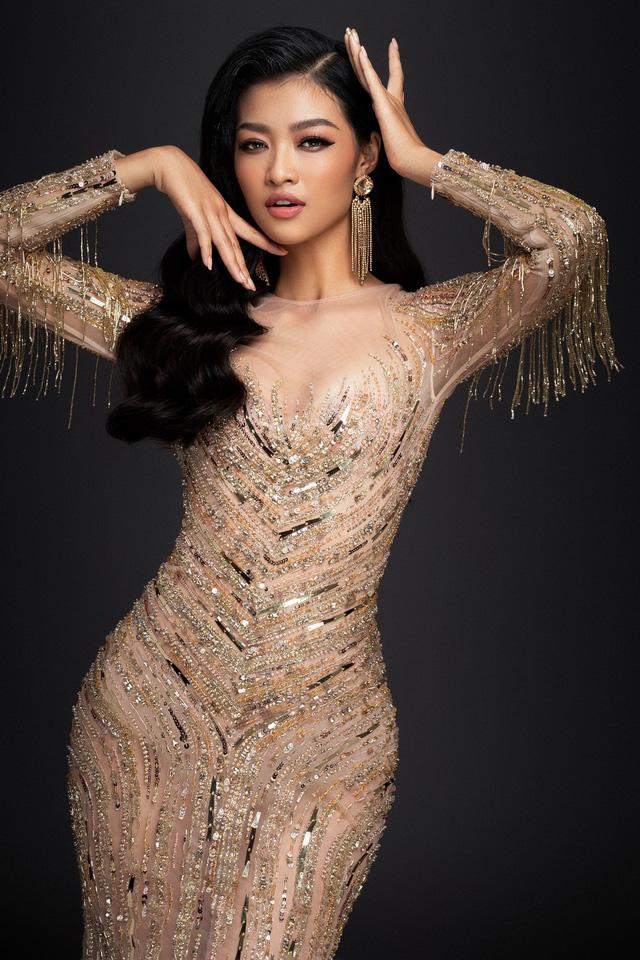 Liên tiếp lọt top cao, Kiều Loan khoe bộ đầm thi Chung kết Miss Grand International 2019 - Ảnh 8.